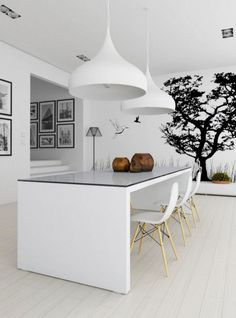 Black and White Decor, 18 Modern Interior Decorating Ideas
