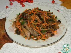 """Супер-быстрые маринованные грибы """"Праздничные"""" ингредиенты"""