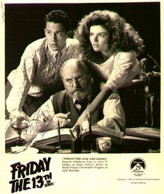 John D. Lemay, Louise Robey, & Chris Wiggins - Friday the 13th: The Series Photo (28012877) - Fanpop