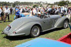 Alfa Romeo 8C Lungo Touring Spider 1938 2