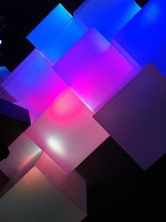 Coroplast squares (detail) - Valley Church - Set Design on Behance