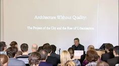 CITY | Lecture 5 | 2011-12 Series. Pier Vittorio Aureli, theorist and architect with Penny Lewis, academic and journalist Thursday 17 May 20...