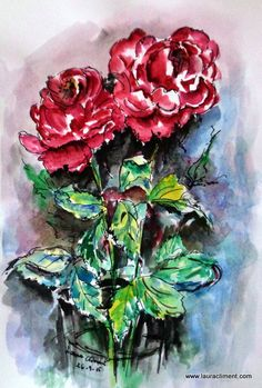 Roses Only, Painting, Art, Art Background, Painting Art, Kunst, Paintings, Performing Arts, Painted Canvas
