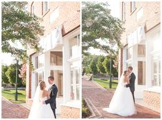 They met at a gym in Athens, and after a short whirlwind of dating (12 dates in 3 weeks + long distance dating), they knew it was right! Tate says he knew after their first date that Abby was the one. Venue: The Corner District (Georgia), Photos: Katey Penton Photography, Catering: Scott Boys BBQ Food Truck, Hair: Bloom Hair Designs, DJ: MSA Entertainment, Wedding Coordinator: Winey Blonde Events, Decor: DIY