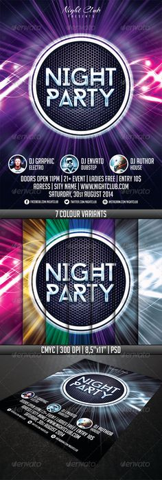 Numberone Party Flyer Template  Party Flyer Flyer Template And
