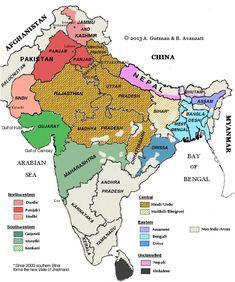 MAP OF INDO-ARYAN LANGUAGES DISTRIBUTION http://www.languagesgulper.com/eng/Indoeuropean.html