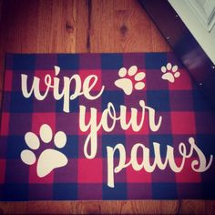 """11 Likes, 1 Comments - LuLaRoe with Terry and Pilar (@jacmom) on Instagram: """"Loving my new doormat! #wipeyourpaws #doormat #decor #falalala #paws #dogsofinsta #dogs #woof…"""""""
