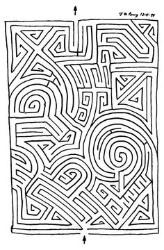 End Of Year Activities, Preschool Learning Activities, Mazes For Kids, Worksheets For Kids, Coloring Books, Coloring Pages, Maze Worksheet, Printable Mazes, Sudoku
