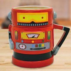 Taza Robot Retro | Tazas y Jarras
