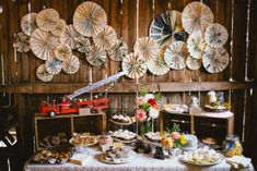 rustic wedding cake tables - Google Search