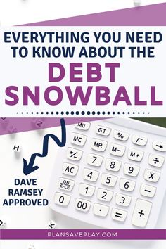 Debt Snowball Calculator, Debt Snowball Worksheet, Dave Ramsey Debt Snowball, Money Makeover, Paying Off Credit Cards, Get Out Of Debt, Debt Payoff, How To Get Money, Money Saving Tips