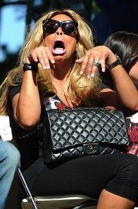 Wendy Williams. U know what she's sayin'!!!!!