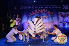 Kyokushin Kenbukai International & Kyokushin Karate Organisation of India organized for the first time in India a 3 day Karate Kyokushin Carnival.