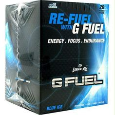 Gamma Labs G Fuel Blue Ice