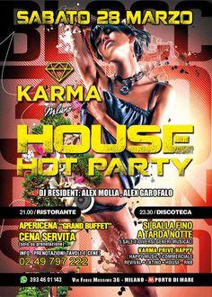 Sabato 28 Marzo Grande evento al Karma in collaborazione con Bystaff Eventi! Che serate con Bystaff! Info&agevolazioni al 3934601143