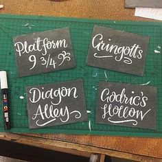 And make sure you name your tables after wizarding locations. | 26 Harry Potter Wedding Ideas That Even Muggles Will Love
