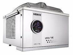 Nemox Gelato 4k Touch – Mini PC Caffe Gelato Machine, Gelato Maker, Commercial Ice Cream Machine, Small Restaurants, Industrial Restaurant, Sorbet, Stainless Steel Case, Touch, Mini