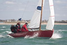 The XOD class dinghy 'Mersa' racing during Aberdeen Asset Management Cowes Week. #sailboats #boats #sailing