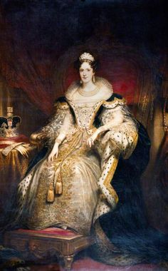 Queen Adelaide,Wife of King William, aunt to Queen Victoria .
