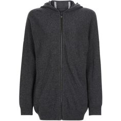 Sweaty Betty Assemble Wool Cashmere Knitted Hoodie (£140) ❤ liked on Polyvore featuring tops, hoodies, activewear, charcoalmarl, tall hoodies, hooded sweatshirt, oversized hooded sweatshirt, cashmere hoodies and longline hoodie