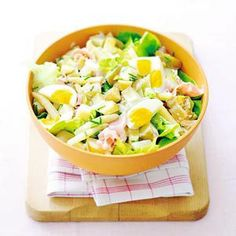 Recept - Kartoffelsalat met asperges en ei - Allerhande