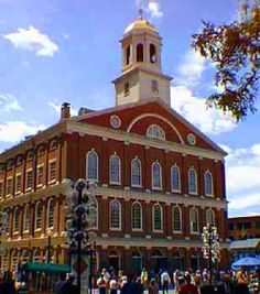Faneuil Hall - Boston, MA. I am LONG overdue for a visit to Beantown... (sigh) Love that place!
