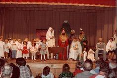 Christmas at #firstchurchmesa (around 1983?)