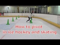 How To Pivot In Ice Hockey Power Skating - Learn to pivot forwards to ba...