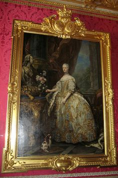 This portait of Queen Marie Leszczynska by Jean-Baptiste van Loo hangs on the small side of Salon de Mars. The Salon de Mars (Mars Drawing Room) was where the king's guards were staffed on duty. Versailles, Funny Videos, Fleur Orange, Selfies, Best Fails, Blog Search, Montage Photo, College Dorm Decorations, Tattoo Motive