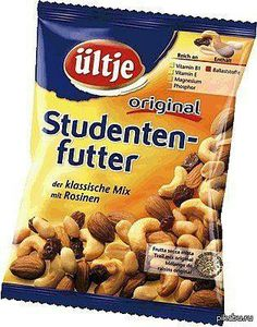 Studentenfutter ... students food ;-)