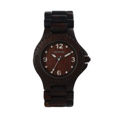 Looking for a unique accessory to complete your outfit? Look no further! This WeWood watch is sure to make a statement. WeWood is 100% natural wood and hypo-allergenic. This particular watch is made with indian rosewood. Indian Rosewood is very strong and heavy, takes an excellent polish. Get it now: http://iconicthreadsco.com/index.php/men/accessories/watches/wewood-kale-blk-brown.html  #watch #wewood #accessories #menswear #fashion #style #mensfashion #unique #rockstar