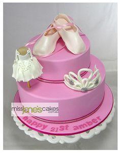 Amber's 21st Cake, via Flickr.  www.missjanescakes.com.au