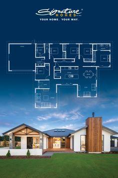 Little House Plans, Dream House Plans, Building Layout, Building A House, Home Room Design, House Design, Sims House Plans, Beautiful House Plans, Nz Art