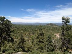 Payson vista from the south end of town.