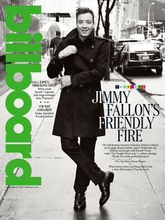 Billboard Cover: Jimmy Fallon on His A-List Guests and Runaway 'Tonight Show' Success: 'The Show Is Basically Everything I Like'