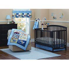 Garanimals - Boys On The Go 3pc Crib Bedding Set - Value Bundle