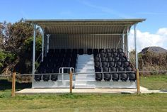 The Godolphin Atlantic FC in Newquay, Cornwall have just installed on of our mini grandstands :)