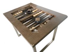 Hector Saxe Backgammon Board From Www.luxury Backgammon Tables.co.uk