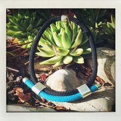 Collier ras du coup en corde Garden Hose, Etsy, Boutique, Outdoor, Handmade, Cord, Handmade Gifts, Fantasy, Necklaces