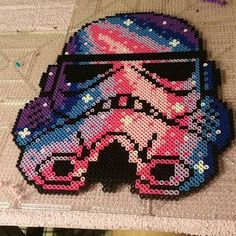 Stormtrooper Star Wars perler beads by kjbillz