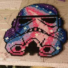 Stormtrooper Star Wars perler beads by kjbillz