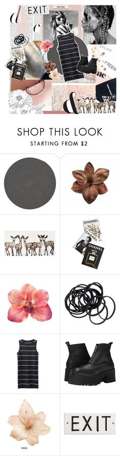 """i'm prada you're nada"" by felicihty ❤ liked on Polyvore featuring Hai, CB2, Clips, WALL, Assouline Publishing, H&M, UNIF, Rosanna, simpleoutfit and polyvoreeditorial"