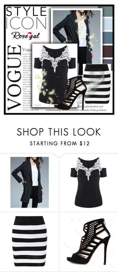 """""""// RoseGal // 16/90"""" by nura-akane ❤ liked on Polyvore"""