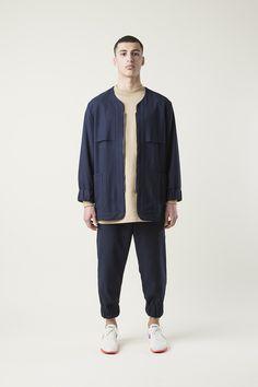 Drole de Monsieur // Baseball jacket blue