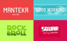 Free Crazy Ass Fonts Series 5 // Via @mywebneel //