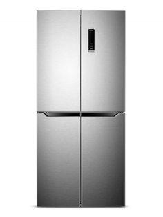 Belling Frost Free American Fridge Freezer | BMD400IX American Fridge Freezers, Frost
