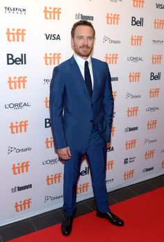 Actor Michael Fassbender attends the TIFF Soiree during the 2016 Toronto…