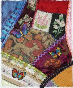 Allie's in Stitches: crazy quilt embellishment