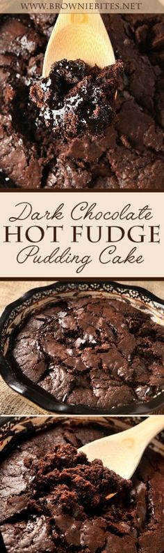 When you need chocolate NOW! This dead simple dark chocolate hot fudge pudding cake recipe uses easy ingredients you likely already have in your pantry. It makes its own warm hot fudge sauce as it bakes!