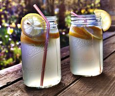 lemon and water.. my favourite drink of summer.